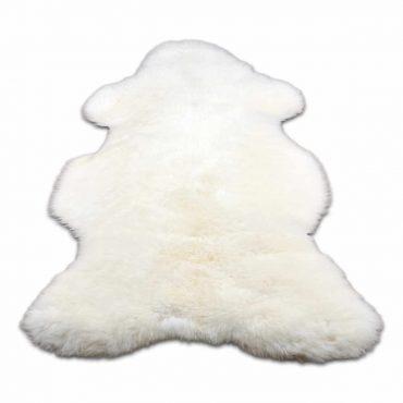 Van Buren Texelse schapenvacht wit bont