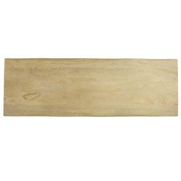 Houten bank eucalyptushout 95 cm