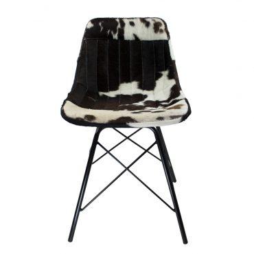 eetkamerstoel koe zwart/wit Mars & More