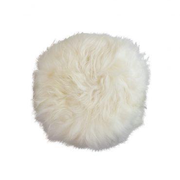 krukje met vacht rond wit