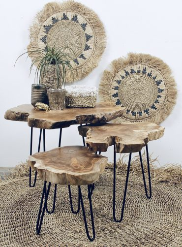 teakhouten tafels