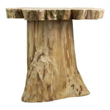 houten tafel boomstam